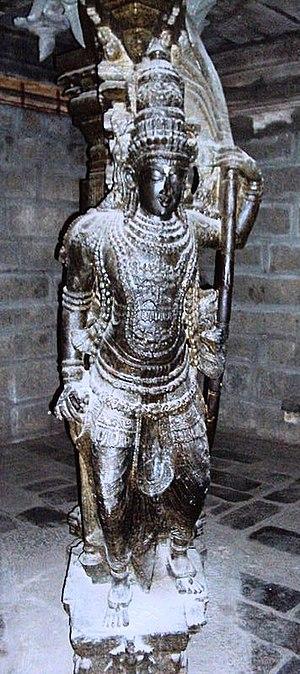 Tirunelveli - Image: Nellaiappar temple pillar