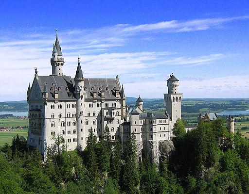 Neuschwanstein Castle -a