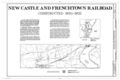 New Castle and Frenchtown Railroad, New Castle, New Castle County, DE HAER DEL,2-NEWCA,44- (sheet 1 of 5).png
