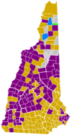 New Hampshire Democratic Presidential Primary Election Results by Town, 2008.png