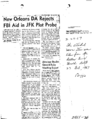 New Orleans DA Rejects FBI Aid in JFK Plot Probe.png