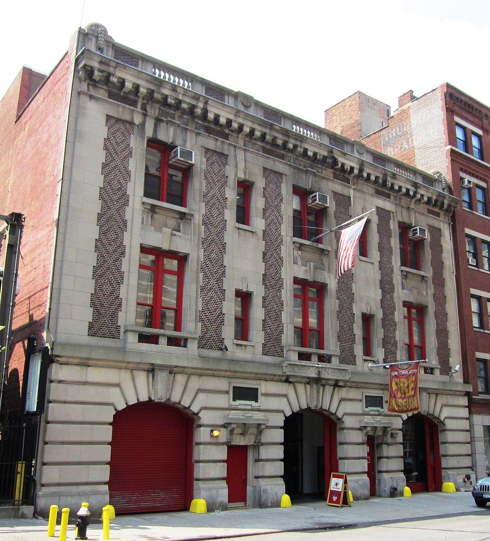 New York New York City: New York City Fire Museum