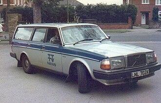 ITV Tyne Tees - Tyne Tees News Unit car.