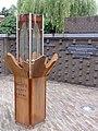 Nijmegen Titushof, World Peace Flame.JPG