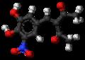 Nitecapone molecule ball.png