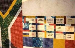 Mpophomeni - Mpophomeni wall to remember those who died during struggle