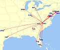 Nonstop daily flights to and from Piedmont Triad International Airport Greensboro High Point NC.jpg