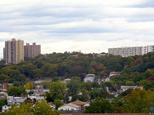 Bergenwood, North Bergen - Image: North Bergen West Slope