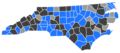 North Carolina Libertarian Presidential Primaries Election Results by County, 2016.png