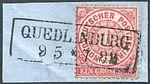 North German Confederation 1869 QUEDLINBURG Feuser Pr 2657.jpg