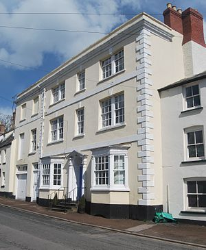 North Parade House, Monmouth - Image: North Parade House, Monmouth