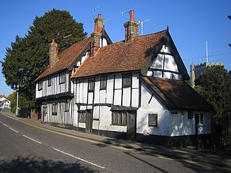 Northchurch - The almshouses or Church House date to the 15th and 16th centuries are on Northchurch High Street