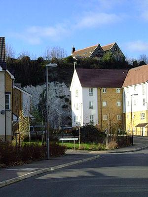 Northfleet - New builds in Rosherville in 2008