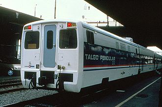 Amtrak Cascades - The Northwest Talgo at Portland in August 1994
