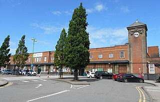 Nuneaton railway station Station in Warwickshire, England