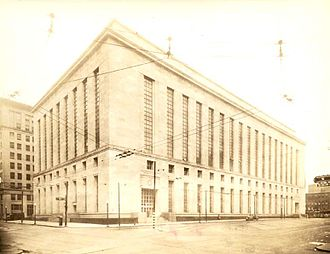 Potter Stewart United States Courthouse - The courthouse as it appeared in 1938