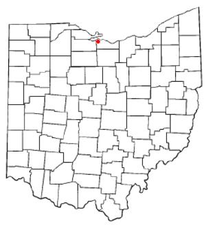 Castalia, Ohio - Image: OH Map doton Castalia