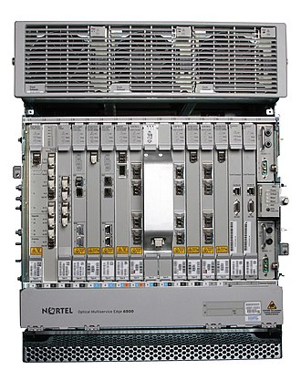 Ciena Optical Multiservice Edge 6500 - Image: OME 6500 with 100G