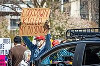 Ohio protestocuları, 18 Nisan