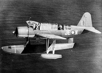 Vought OS2U Kingfisher - An OS2U of 107 Sqn RAAF.