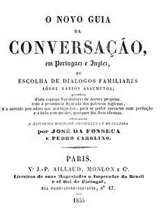 <i>English as She Is Spoke</i> Book by Pedro Carolino