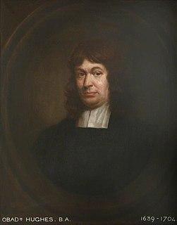 Obadiah Hughes English Presbyterian minister