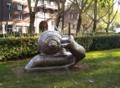 Oberhausen Snail Statue 2018.png