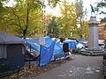 Occupy Portland November 9 tarps.jpg