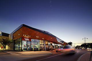 Ocean Keys shopping centre in Western Australia