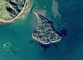 Okina-jima Island in Lake Inawashiro Aerial photograph.1976.jpg