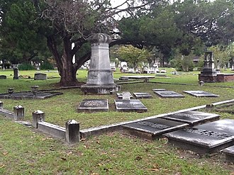 National Register of Historic Places listings in Ware County, Georgia - Image: Old Lott Cemetery
