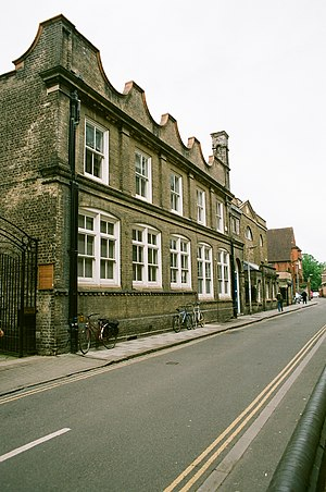 Emmanuel United Reformed Church, Cambridge - Site of the former Hog Hill chapel, Downing Place, Cambridge