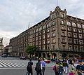 Old Portal de Mercaderes from NW corner of Zocalo, Mexico City.jpg