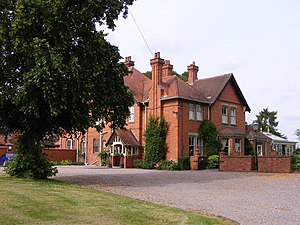 Worfield - Image: Old Vicarage Hotel (geograph 3047560)
