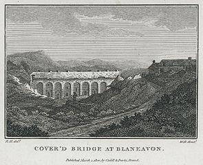 Oldcastle: Cover'd bridge at Blaneavon