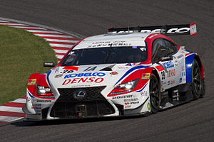 Oliver Jarvis - Jarvis competing in the 2014 Super GT season.