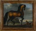 Oljemålning på duk, hästporträtt, ca 1650 - Skoklosters slott - 56653.tif