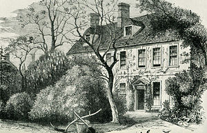 "John Newton - The vicarage in Olney where Newton wrote the hymn that would become ""Amazing Grace""."