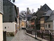 One way street Bad Lobenstein