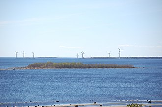 Renewable energy in Finland - Vatunki wind farm in Kuivaniemi, Ii municipality, Finland.