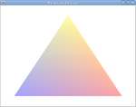 OpenGL Tutorial Triangle alpha-blending.png