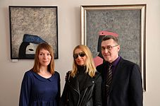 Opening of the exhibition «Adam Hlobus. Belarusian avant-garde of the 80-th» 24.03.2015 01.JPG