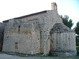 The chapel of Saint-Blaise, in Saint-Mitre-les-Remparts