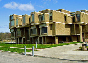 Orange County, New York - The Orange County Government Center in Goshen, N.Y., designed by Paul Rudolph.