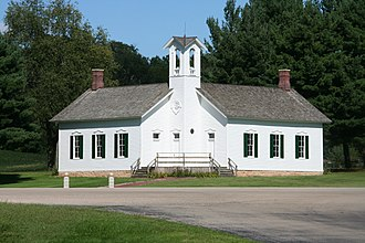 Chana School - Chana School is an example of a fully restored two-room schoolhouse in Oregon, Illinois.