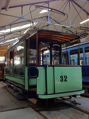 Oslo Tramway Museum - Image: Oslo tram 32