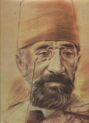 Osman Hamdi Bey - Self-portrait, Osman Hamdi Bey Museum, Gebze.