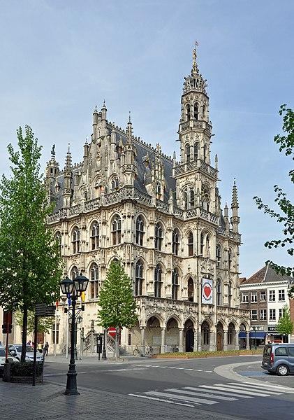 Oudenaarde (Belgium): town hall