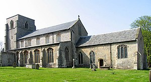 South Creake - Image: Our Lady St Mary, South Creake, Norfolk geograph.org.uk 315391