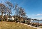Pörtschach Johannaweg Park österr Wasserrettung und Villa Christina 23122017 2131.jpg